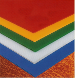 Aus Twin Plastic Board comes in a variety of colours